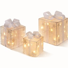 LED Detach Bow Parcels - White