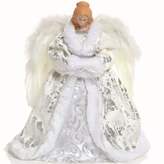 LED Angel Topper - Silver