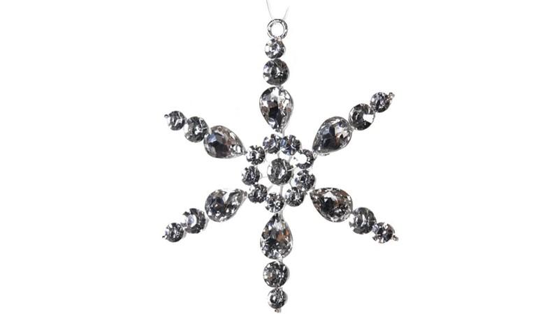 Silver Sparkle Snowflake