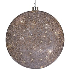 Light Up Glitter Ball - Large
