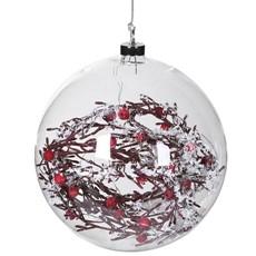 Light Up Bauble - Berries & Twigs