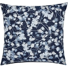 Clarissa Hulse Blowing Grasses Cushion - Blue