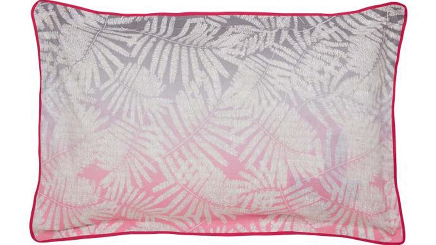 Clarissa Hulse Espinillo Oxford Pillow Case - Hot Pink