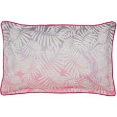 Clarissa Hulse Espinillo Oxford Pillow Case - Hot Pink