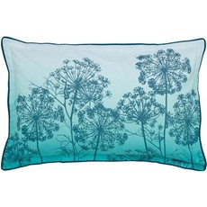 Clarissa Hulse Dill Oxford Pillow Case - Aqua