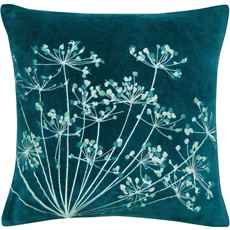 Clarissa Hulse Dill Cushion - Aqua