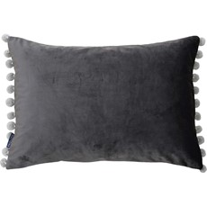 Fiesta Cushion - Mink & Silver