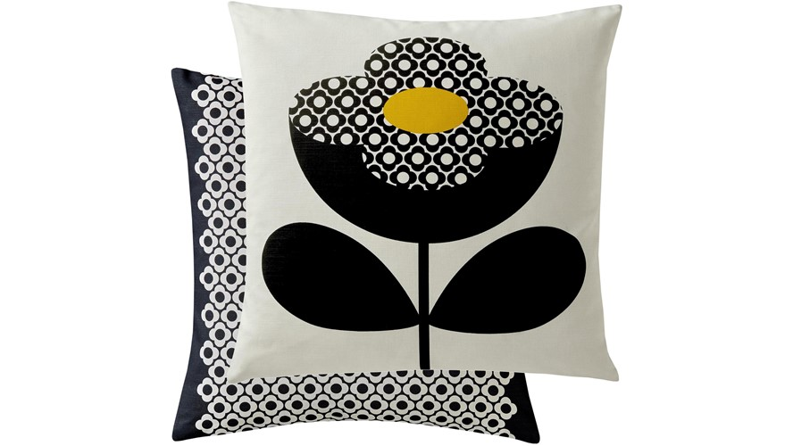 Orla Kiely Buttercup Square Cushion