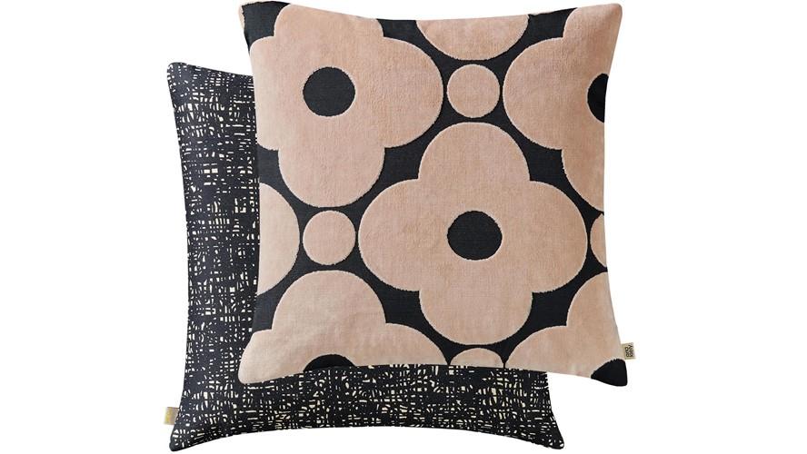 Orla Kiely Spot Flower Square Cushion - Tea Rose
