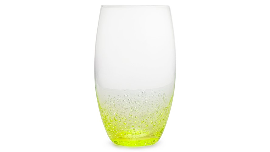 Simply Home Bubble Hi-Ball Glasses Green - Set 4