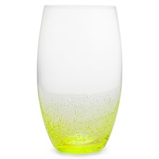 Simply Home Bubble Hi-Ball Glasses Green - Set 4