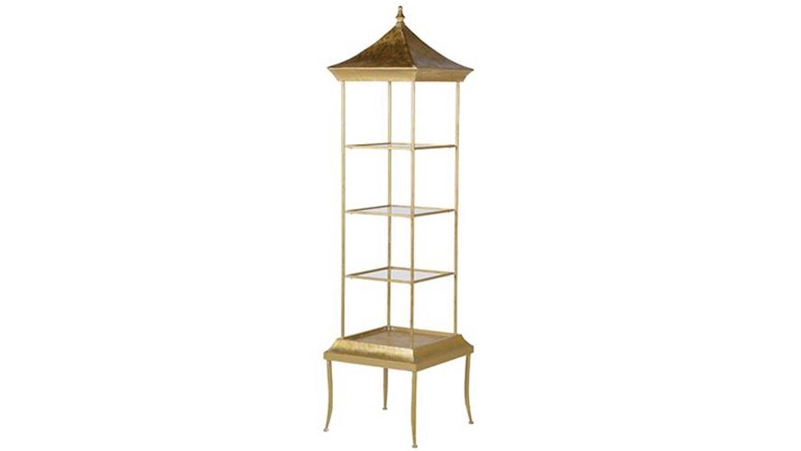 Golden Pagoda Shelves