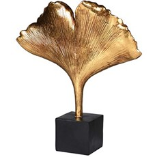 Ginkgo Leaf Ornament On Stand