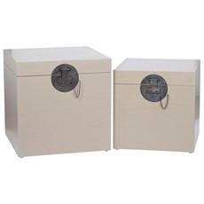 Brushed Fawn Mango Wood Storage Box
