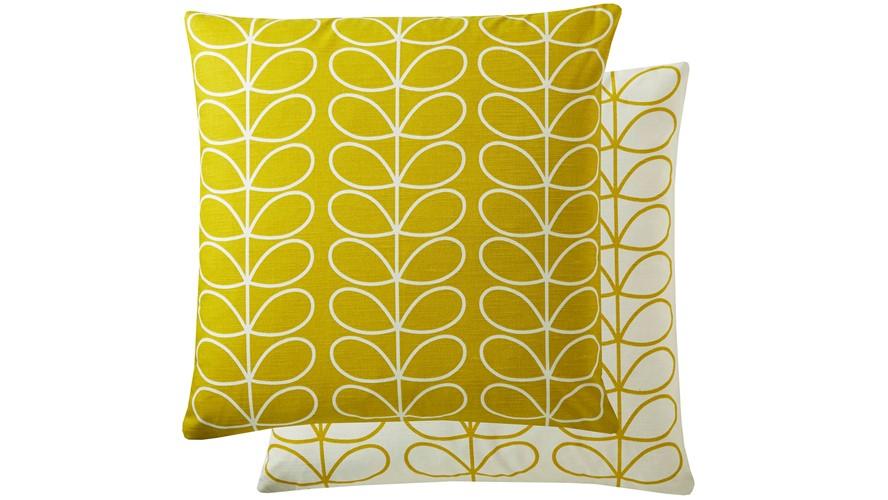 Orla Kiely Linear Stem Square Cushion - Sunflower