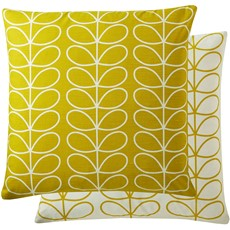 Orla Kiely Linear Stem Square Cushion - Sunflower