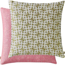 Orla Kiely Acorn Cup Square Cushion - Moss
