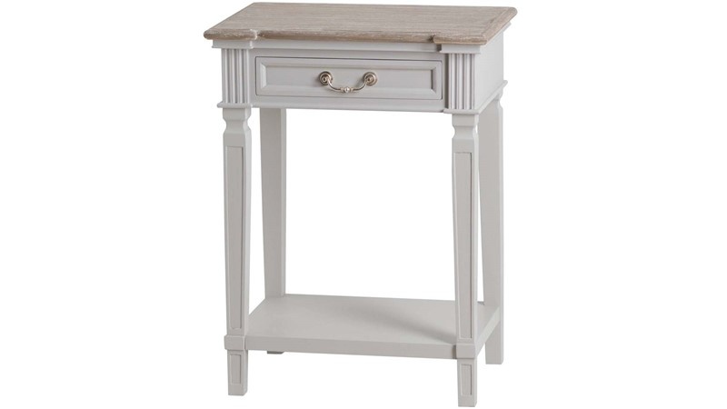 The Liberty Collection Hall Table With Shelf