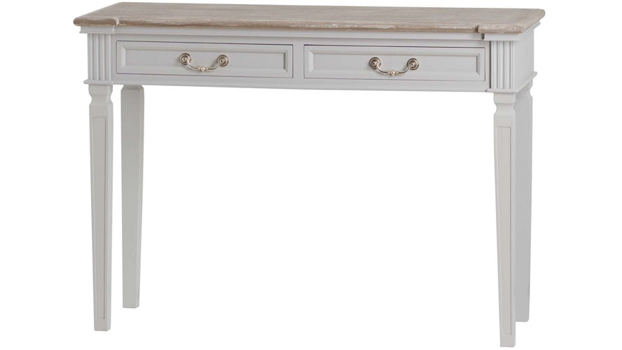 The Liberty Collection Console Table with 2 Drawers