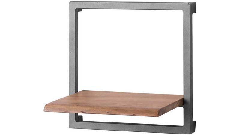 Live Edge Collection Square Shelf