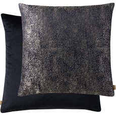 Kai Metallic Square Cushion - Black