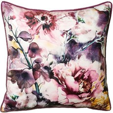 Irina Square Cushion - Heather