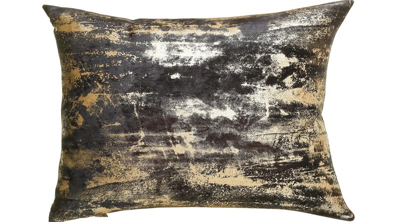 Moonstruck Rectangular Cushion - Charcoal