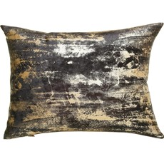 Moonstruck Rectangular Cushion - Charcoal