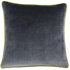 Meridian Square Cushion - Moss & Charcoal