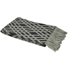 Madison Throw - Charcoal