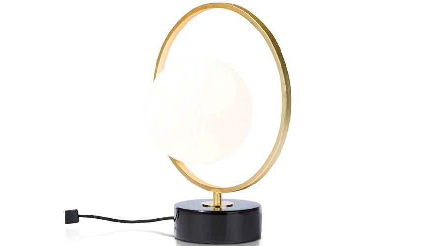 Leah Table Lamp - Gold