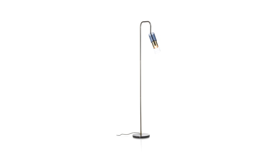 Oliver Floor Lamp - Blue