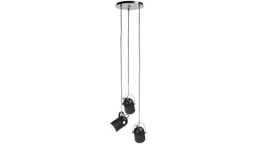 Ruby Pendant Lamp - Black