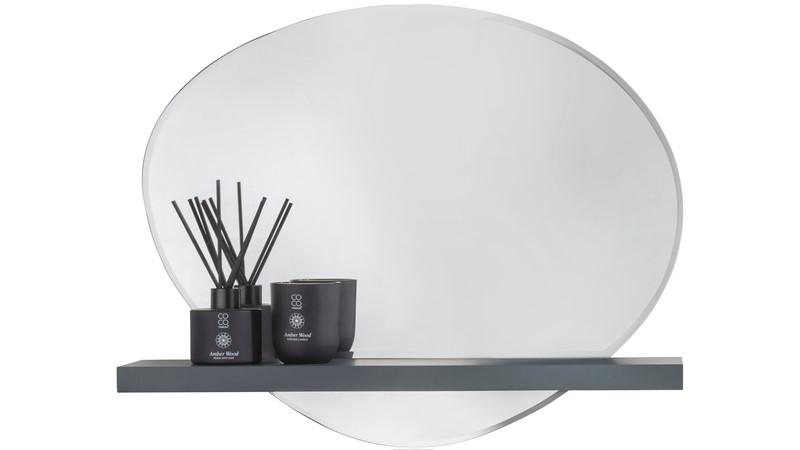 Leila Wall Mirror & Shelf