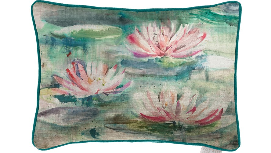 Perdita Topaz Rectangular Cushion
