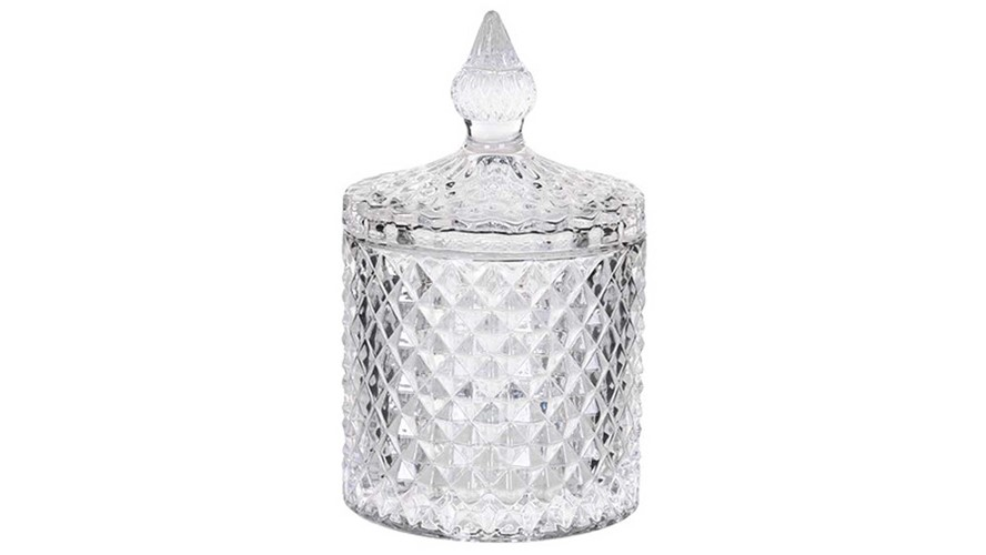 Glass Jar With Lid - Small