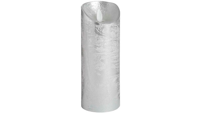 Luxe Collection LED Wax Candle - Silver