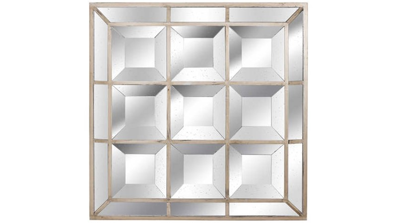 Augustus Bevelled Wall Mirror - Gold