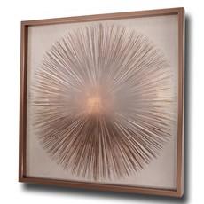 Bronze Sunburst 1 Framed Print