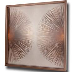 Bronze Sunburst 2 Framed Print