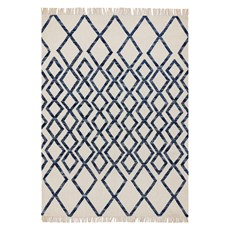 Hackney Rug - Diamond Blue
