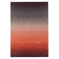 Ombre Rug - Rust