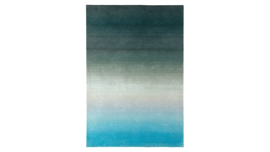 Ombre Rug - Blue