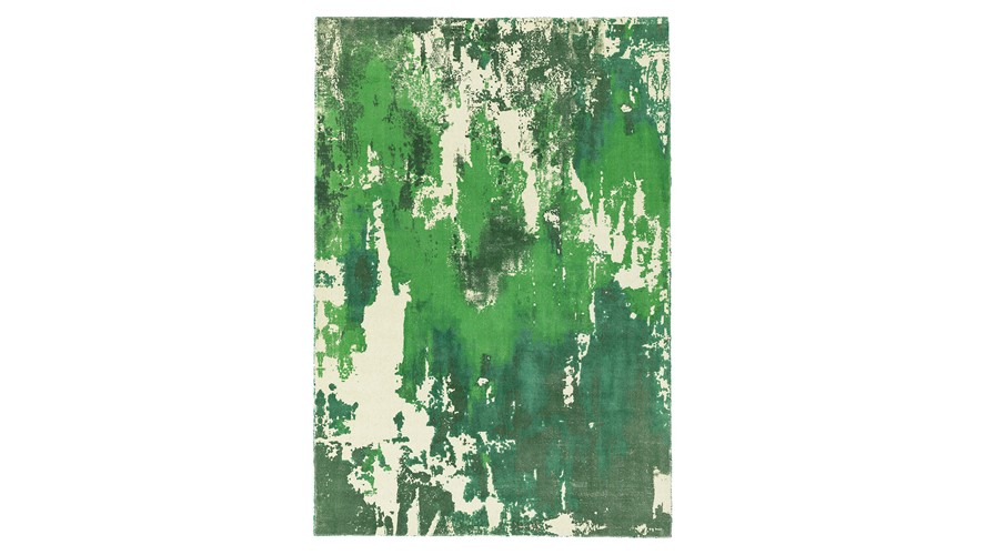 Saturn Rug - Green