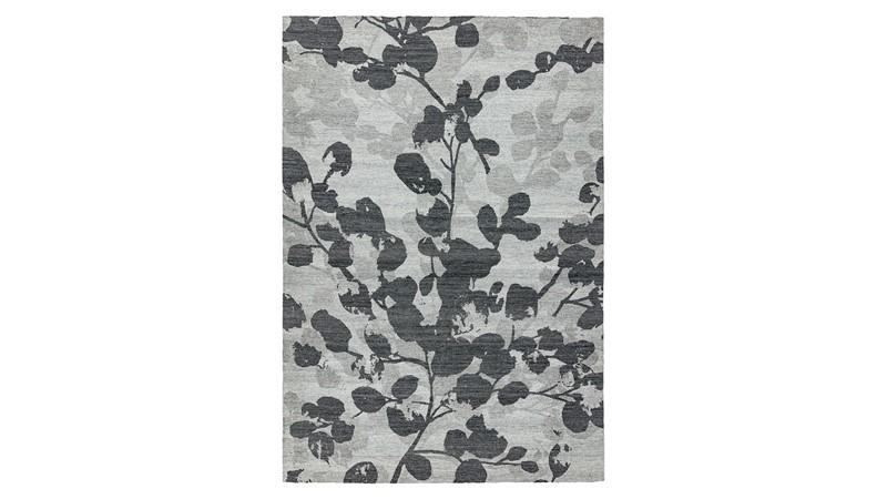Shade Rug - Leaf Grey
