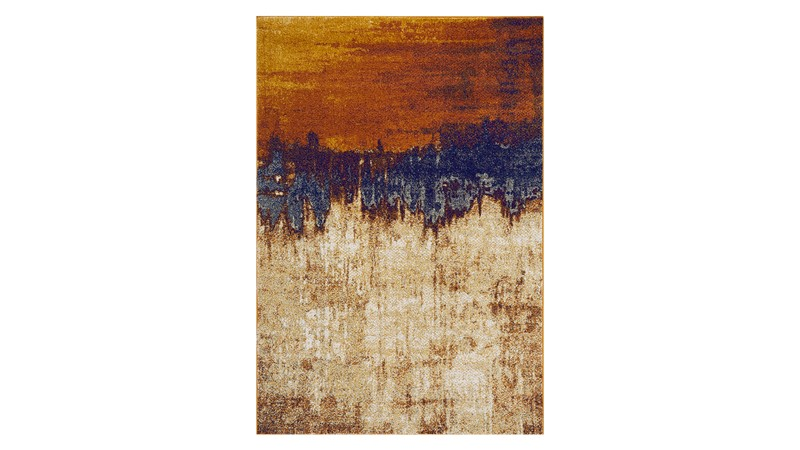 Nova Rug - Distress Orange