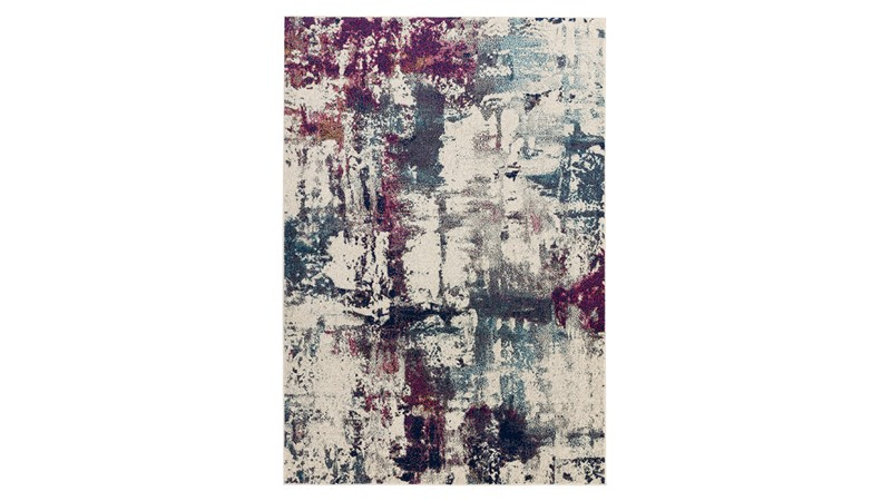 Nova Rug - Abstract Navy