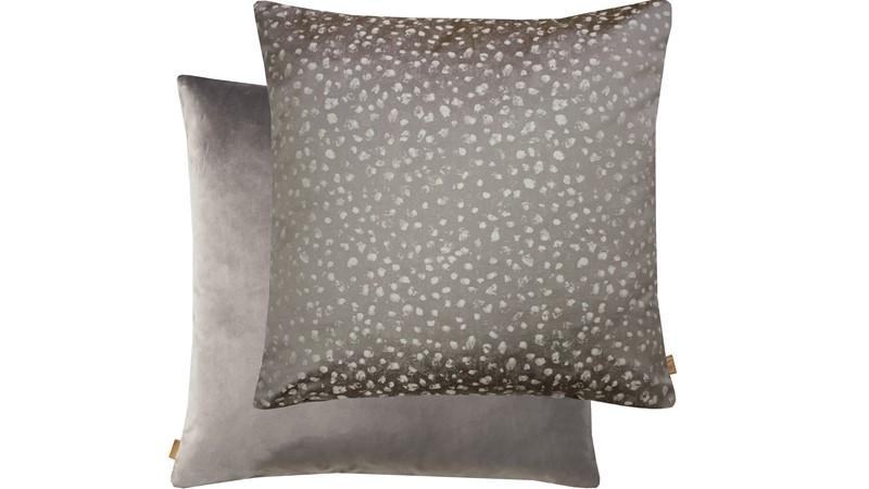 Textured Cushion - Mink