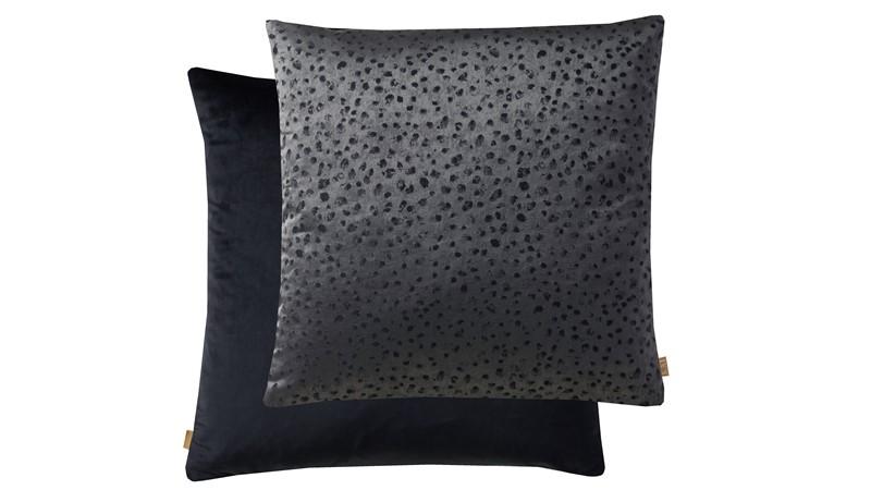 Textured Cushion - Black