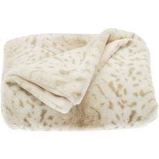 Snow Leopard Throw